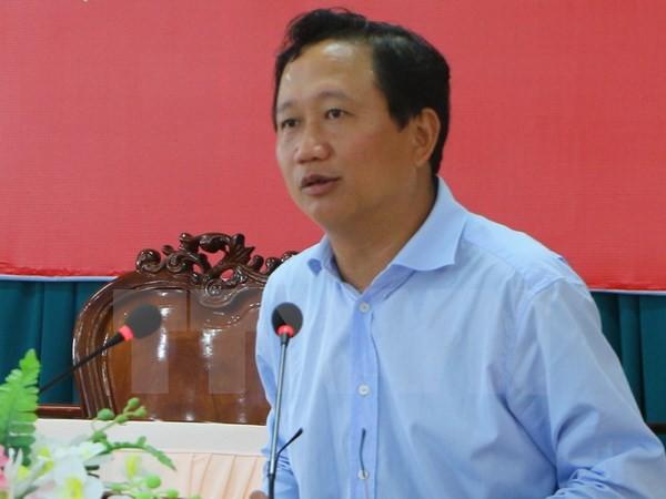 Phó Chủ tịch UBND tỉnh Hậu Giang Trịnh Xuân Thanh. (Ảnh: TTXVN)