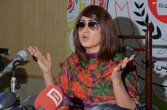 Người mẫu nổi tiếng Pakistan Qandeel Baloch