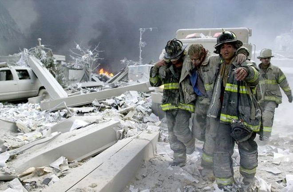 Hiện trường vụ khủng bố tại Mỹ ngày 11-9-2001