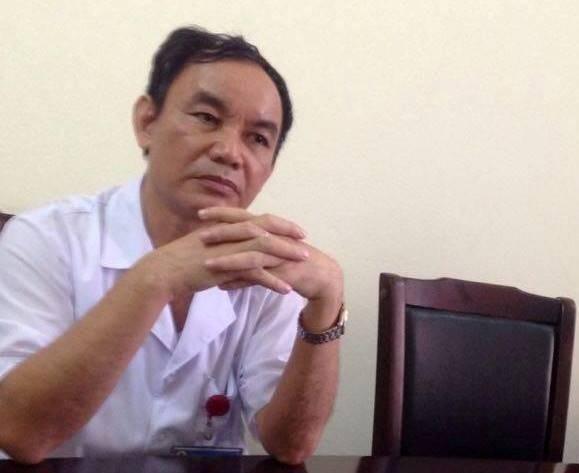 Giám đốc bệnh viện đa khoa huyện Nông Cống Lê Nguyên Khanh thừa nhận sự việc cắt nhầm niệu quản là có thật