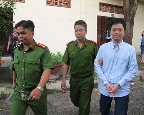 Lưu Trung Hiếu sau phiên xử