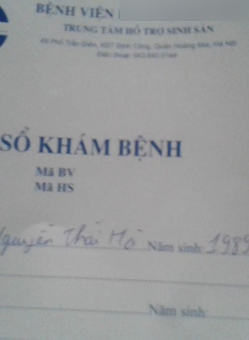 L. đồng ý cho trứng và mang thai hộ cho 1 người đàn ông ở Hà Nội
