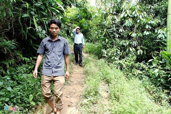 Hiểm trở lối lên căn nhà có 4 người bị giết ở Lào Cai ảnh 4