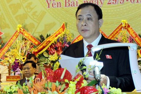Ông Phạm Duy Cường, Bí thư Tỉnh ủy Yên Bái. (Ảnh: TTXVN)