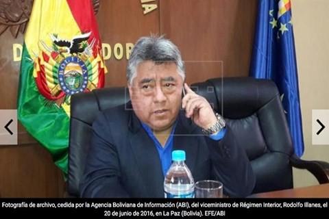 Thứ trưởng Bộ Nội vụ Bolivia Rodolfo Illanes