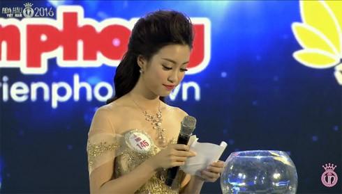 Đào Thị Hà - ứng viên sáng giá ngôi vị Hoa hậu Việt Nam trả lời ứng xử lạc đề ảnh 3