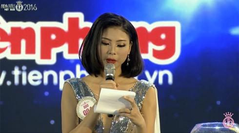 Đào Thị Hà - ứng viên sáng giá ngôi vị Hoa hậu Việt Nam trả lời ứng xử lạc đề ảnh 4