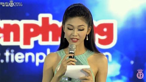Đào Thị Hà - ứng viên sáng giá ngôi vị Hoa hậu Việt Nam trả lời ứng xử lạc đề ảnh 5