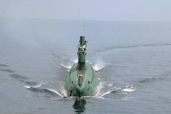 Một tàu ngầm của Triều Tiên