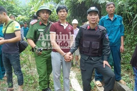 Nghi phạm Tẩn Láo Lở bị lực lượng chức năng bắt giữ sau gần 1 tháng trốn chạy