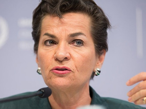 Nhà ngoại giao người Costa Rica Christiana Figueres. (Nguồn: AP)