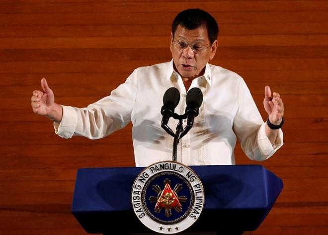 Ông Duterte nói đã cố ý không gặp ông Obama tại Lào (Ảnh: Reuters)