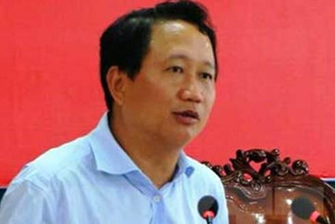 Ông Trịnh Xuân Thanh - nguyên Tỉnh ủy viên, Phó Chủ tịch UBND tỉnh Hậu Giang bị khai trừ Đảng