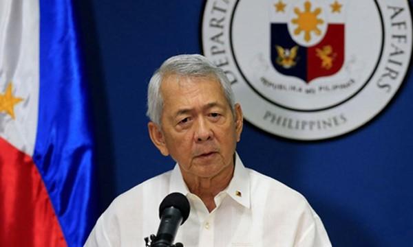 Ngoại trưởng Philippines Perfecto Yasay (Ảnh: ABS CBN)