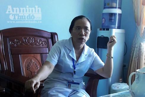 Bà Nguyễn Thị Kim Ngân khẳng định, khi chuyển viện cấp cứu, nạn nhân vẫn chưa tử vong