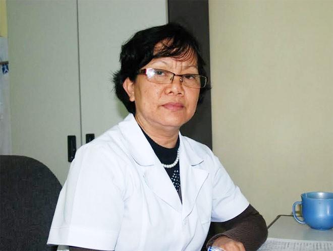 Bác sĩ Nguyễn Thị Kim Cúc, Phó trưởng khoa H, bệnh viện Tâm thần Hà Nội