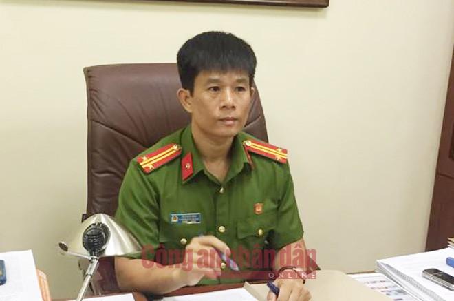 Trung tá Vũ Xuân Bảo, Phó trưởng phòng CSHS CATP Hải Phòng