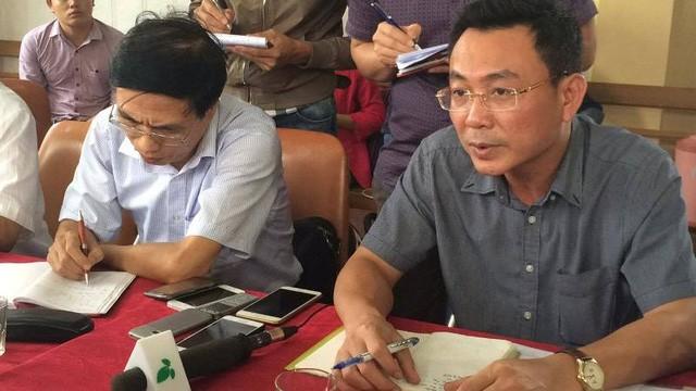 Ông Tô Xuân Bảo, Phó Cục trưởng Cục kỹ thuật an toàn và Môi trường Công nghiệp, Bộ Công thương