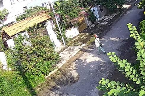 Tên trộm bị camera ghi hình