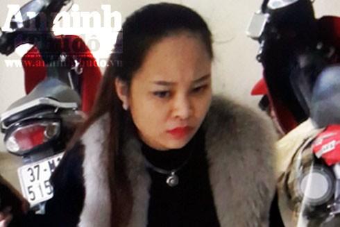 Trương Thanh Huyền bị bắt khi mang ma túy tổng hợp vào quán karaoke để bán (Ảnh: H.B)