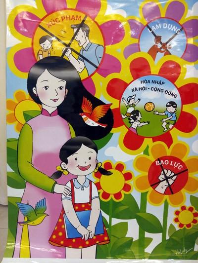 """Tác phẩm """"Trẻ em là tương lai đất nước"""" của tác giả Nguyễn Hà Linh"""