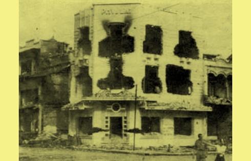 Chùm ảnh khó quên về Hà Nội mùa đông 1946 (4): Phố phường Hà Nội những năm kháng chiến ảnh 14