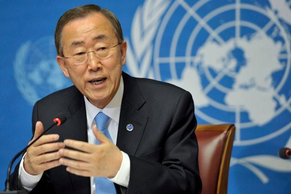 Ông Ban Ki Moon