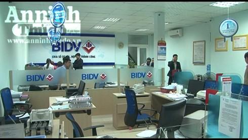 Phòng giao dịch Thành Nội, chi nhánh ngân hàng TMCP Đầu tư và Phát triển Việt Nam tại Thừa Thiên-Huế, nơi xảy ra vụ cướp táo tợn
