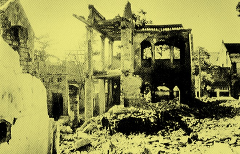 Chùm ảnh khó quên về Hà Nội mùa đông 1946 (4): Phố phường Hà Nội những năm kháng chiến ảnh 1