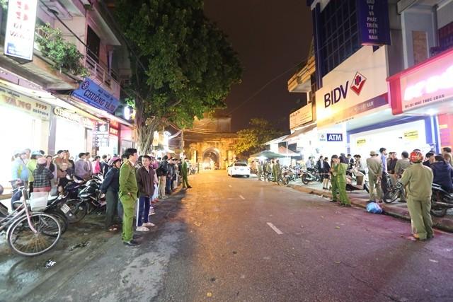 Vụ bắt tên cướp BIDV Huế: Người dân cung cấp nhiều thông tin quý