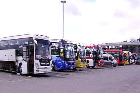 Các doanh nghiệp vận tải ở Quảng Ngãi đã chuẩn bị xe chất lượng cao phục vụ nhu cầu đi lại của người dân trong dịp Tết