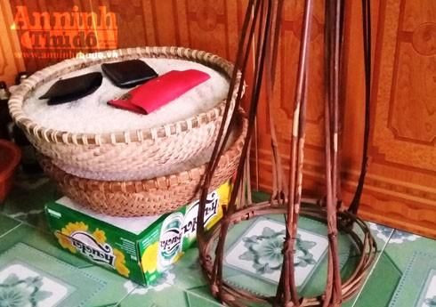 Thúng gạo, tiền lễ tiễn đưa người đã khuất trong dịp Tết