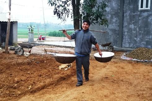 Tục gánh cỗ đi cúng vẫn được duy trì ở nhiều xã của huyện Yên Thành, Nghệ An