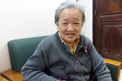 Cụ bà Trịnh Thị Kim Đinh