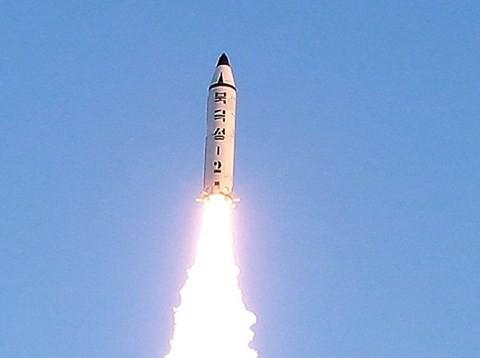 Một vụ thử tên lửa của Triều Tiên