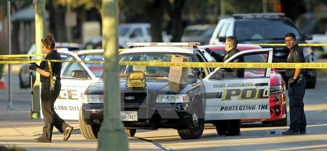 Cảnh sát Mỹ. (Nguồn: AP/TTXVN)