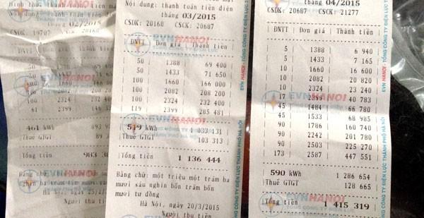 Rối mù với hóa đơn tiền điện 12 bậc ảnh 1
