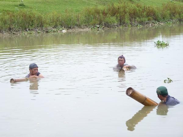 Những người kiếm ăn dưới đáy sông ảnh 1