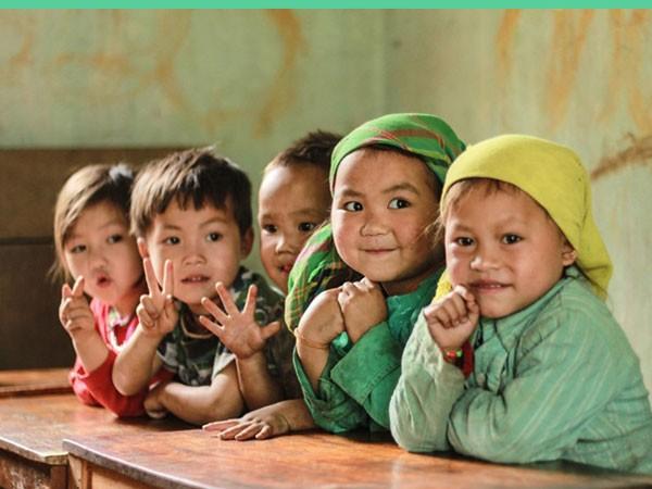 10.000 chân dung trẻ em vùng cao ảnh 1