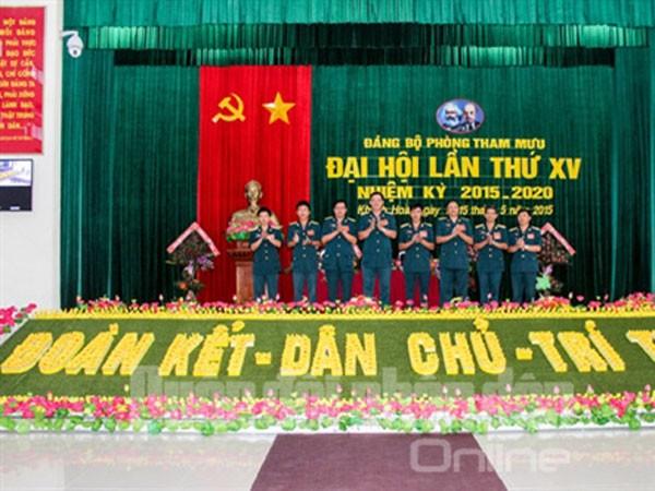 Sư đoàn Phòng không 377 chào mừng Đại hội Đảng ảnh 17