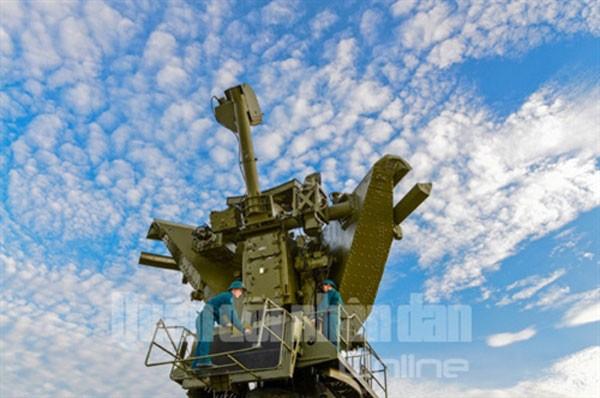 Sư đoàn Phòng không 377 chào mừng Đại hội Đảng ảnh 11