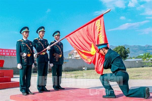 Sư đoàn Phòng không 377 chào mừng Đại hội Đảng ảnh 13