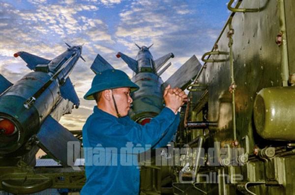 Sư đoàn Phòng không 377 chào mừng Đại hội Đảng ảnh 3