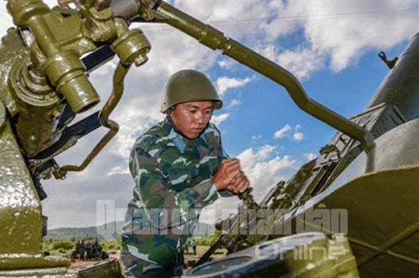 Sư đoàn Phòng không 377 chào mừng Đại hội Đảng ảnh 8
