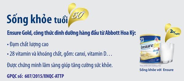 Sau 50 tuổi, người Việt Nam thường bị suy giảm sức khỏe sớm