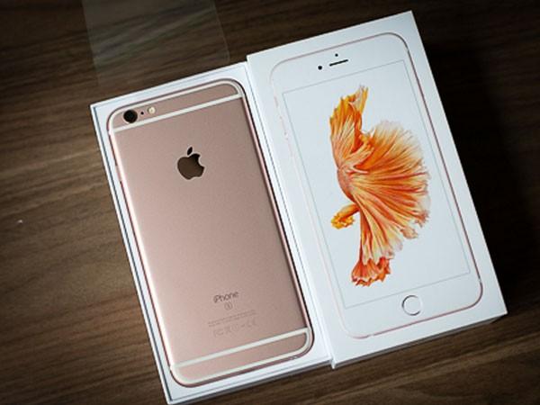 iPhone 6s rớt giá mạnh, bản vàng hồng giảm 10 triệu đồng