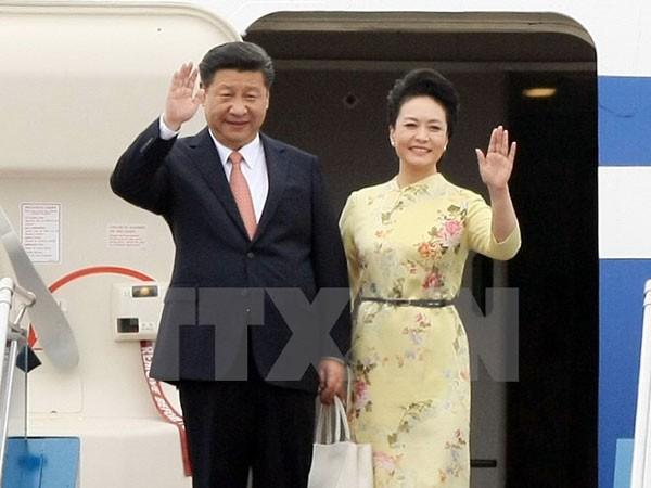 Chủ tịch Trung Quốc bắt đầu thăm cấp Nhà nước tới Việt Nam ảnh 1