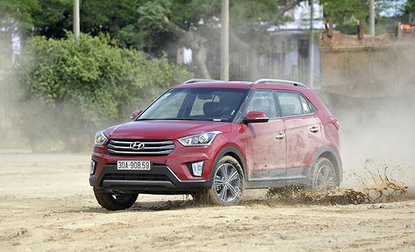 Hyundai Creta nhập khẩu từ Ấn Độ