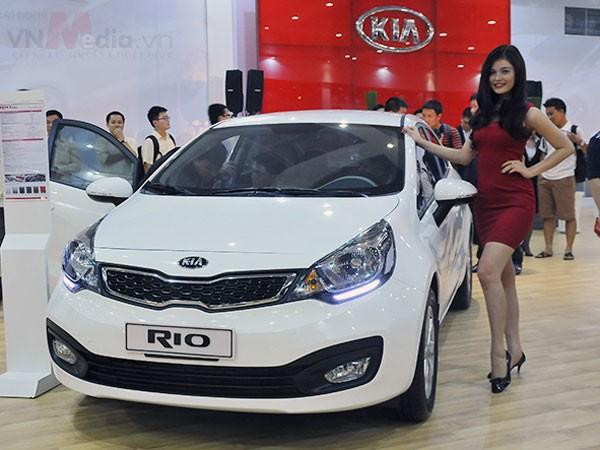 Rio - mẫu xe Kia nhập bán chạy nhất tại Việt Nam