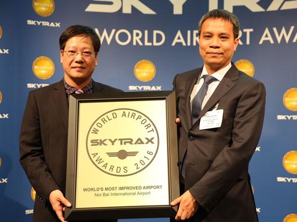 Nội Bài được bình chọn là sân bay cải thiện nhất thế giới 2016
